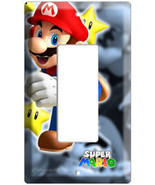 NEW SUPER MARIO BROS SINGLE DECORA LIGHT SWITCH... - $8.99