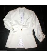 NWT Elizabeth and James Blazer Jacket 4 White R... - $272.25