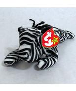 Ty Ziggy Beanie Baby Zebra  Beanbag Plush 1995 PVC - $10.84