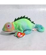Ty Iggy Beanie Baby Iguana Beanbag Plush 1997 R... - $22.20