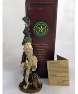 Boyds Folkstone Niki w/Candle Christmas Figurin... - $14.46