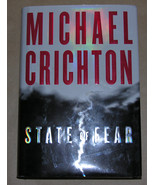 Michael Crichton State of Fear HC First Edition - $9.70
