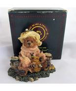 Honey Bear Boyds Bailey Bears and Friends Figur... - $14.46