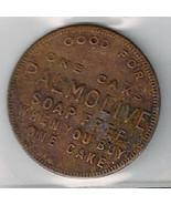 Vintage Palmolive Soap Cake Trade Token Coin - $8.75