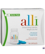 ALLI - Orlistat 60mg 90 Capsules - FACTORY SEALED - (NEW) Expires 01/13 NICE BUY