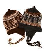 Chullo Peru Ski Hat Alpaca Wool Winter Hand Kni... - $9.85