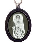 Post Mortem Coffin Girl Necklace Pendant Mement... - $8.90