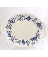 Wedgwood Blue Heritage small oval plate dish ma... - $10.00