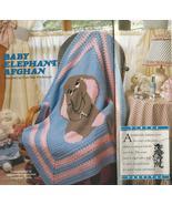 Baby Elephant Afghan Crochet Pattern~RARE~Hard ... - £13.73 GBP