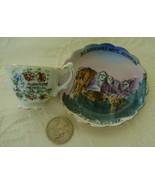 Miniature Souvenir Cup & Saucer Mt. Rushmore - $6.00