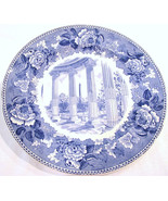 Vintage Wedgwood Plate Washington Momument Blue - $59.00