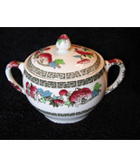 Johnson Bros Sugar Bowl Indian Tree Green Key - $28.00