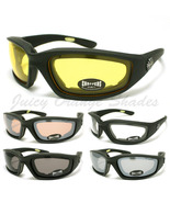 CHOPPERS BIKER WRAP GOGGLE Sunglasses FOAM PADD... - $11.95