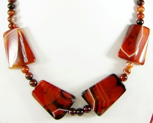 Agate Necklace :  agate necklace chunky