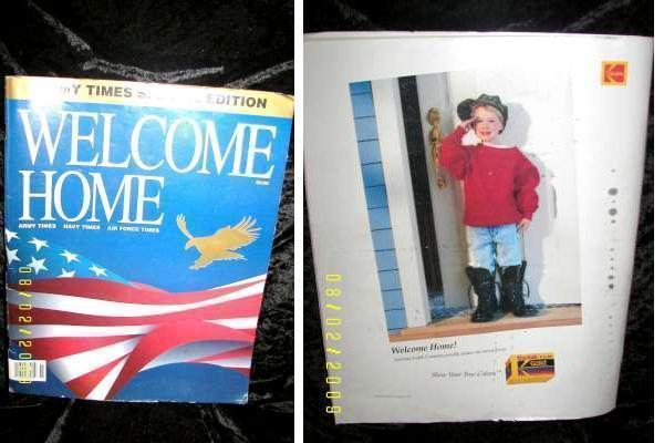 Army Times RARE Special Edition Magazine Desert Shield Memorabilia