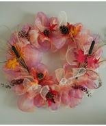 Peace and Prosperity Deco Mesh Wreath          ... - $50.00