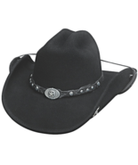 Bullhide Cold Hearted Wool Cowboy Hat Classic S... - $74.00