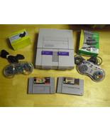 Nintendo SNES White Console (NTSC) with  Troddl... - $108.89