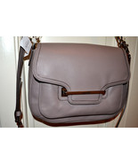 NWT $398 COACH Taylor Leather Flap Satchel Hand... - $147.88