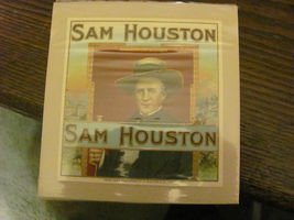 SAM HOUSTON cigar box label, 1920s, mint, four ... - $16.50