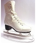 Figure 8 Traditional White Ice Skating Skate Po... - $69.99