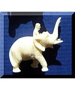 Elephant with Mahut Bedouine Carved Figurine Pr... - $19.00
