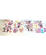 Minnie Bow-Tique 33-Pcs Stick On Wall Decals10'... - $19.36