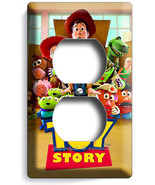 DISNEY TOY STORY 3 ALL WOODY BUZZ DUPLEX OUTLET... - $9.99