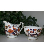 MINT~Cream & Sugar Set~AYNSLEY~Bird Of Paradise... - $79.19