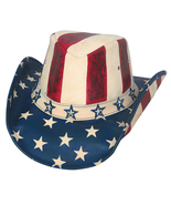 Bullhide American By Heart Leather Cowgirl Hat ... - $86.00