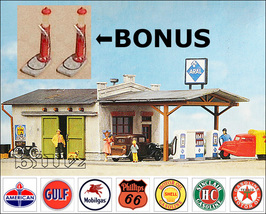 POLA HO 159 - 1950s (or 1920s - BONUS) Gas Stat... - $66.50