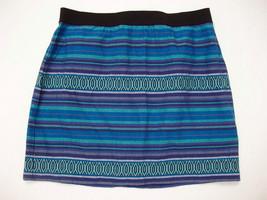 American Eagle AE Skirt 2 XS Mini Taxtured Blue... - $24.95