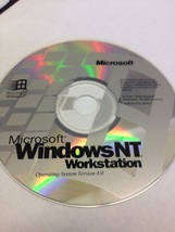 MICROSOFT WINDOW NT WORKSTATION SOFTWARE CD PLU... - $6.00