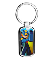 MEGAMAN EXE metal keyring Keychain - $11.00
