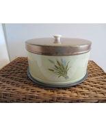 VTG 1950s Cake Carrier Sheaf of Wheat TUTTLE CO... - $27.56