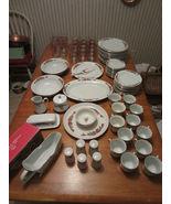 Vintage 1995 Tienshan Christmas China/Glassware... - $326.90