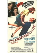 It's A Wonderful Life VHS Colorized James Stewa... - $2.99