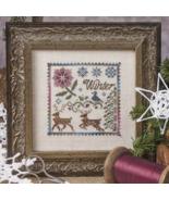 The Winter Deer cross stitch chart Jeanette Dou... - $10.80