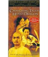 Crouching Tiger Hidden Dragon VHS Chow Yun-Fat ... - $1.99