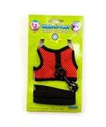 Ware Nylon Walk-N-Vest Small Pet Harness and Le... - $6.87