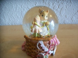 """1999 Mouse in the House """"Tailor Maid"""" Snow globe  - $18.00"""