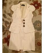 Nanette Lepore Buttercream Yellow Cotton Skirt ... - $149.99