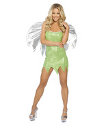 Sexy Green Sprite Fairy Wood Nymph Tinkerbell A... - $60.00
