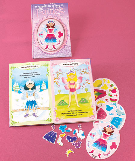 Fairies Magnetic Dress-Up Book