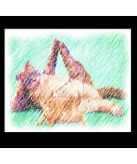 Yoga CAT 2 Re-Mastered Digital Art - $10.00