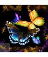 Butterflies... Digital Art - $10.00