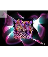 Zebra Static... Digital Art - $10.00