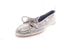 Womens Sperry Top-Sider Audrey Metalic Silver B... - $79.19