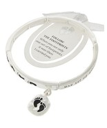 Footprints Religeous Engraved Inspiration Charm... - $12.00