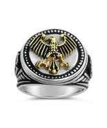 German Eagle Men's Signet ring,,,,Sterling Silv... - $94.00